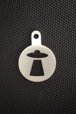 UFO stainless steel token