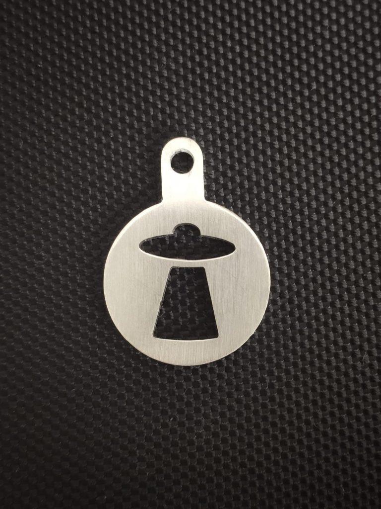UFO stainless steel token